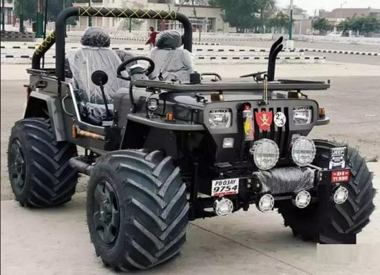 Preet Pal-  Modified open jeep for sale