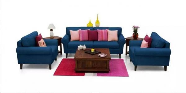 BRAND NEW Round handle sofa set in lowest price..!!!