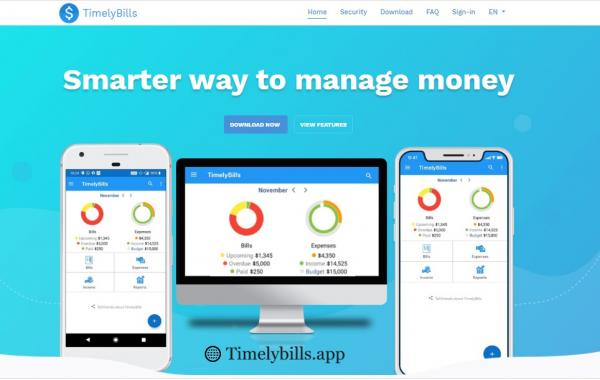 Personal Money Manager App For Android