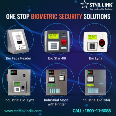 Biometric Attendance System with Time Attendance Software by StarLink