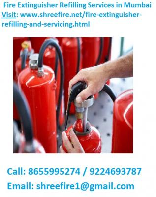 Fire Extinguisher Refilling Services in Mumbai