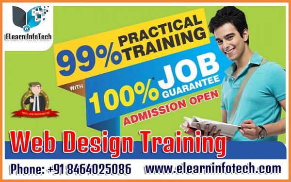Job Guarantee Web Design Training in Hyderabad