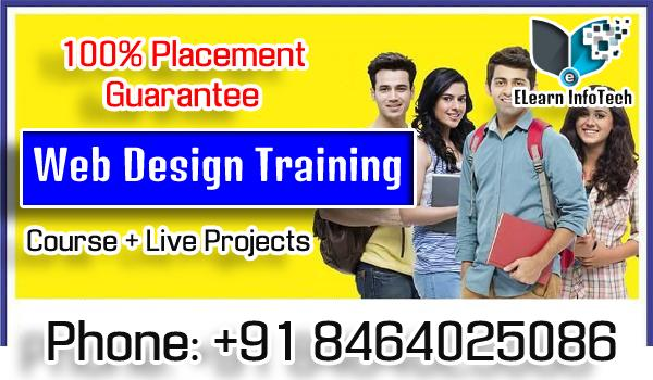 Web Designing Job Guarantee Training in Hyderabad