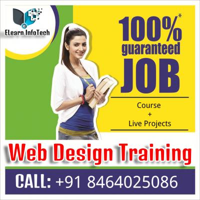 Job Guarantee Web Design Training Institute Hyderabad
