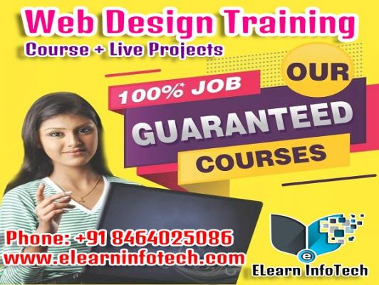 Web Designing Course with Guarantee Placement Training Hyderabad