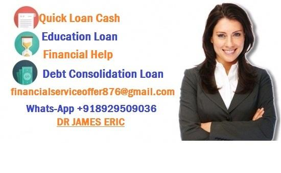 Hello, I am an individual who offers loans internationally. With a capital