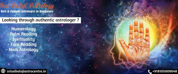 Best Astrologer In Bangalore - Srisaibalajiastrocentre.In