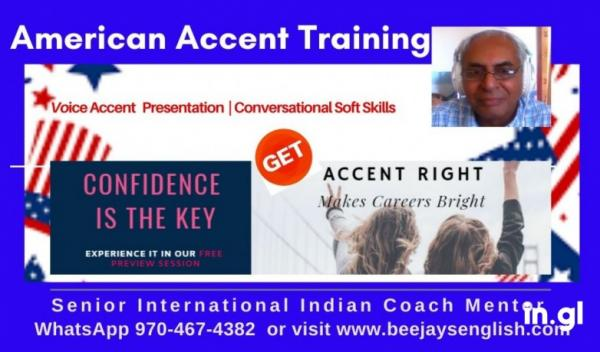 Live American Accent Coaching for IT Project Managers