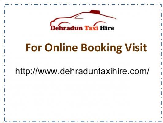 Dehradun Taxi Hire